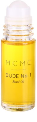MCMC Fragrances Dude No.1 олио за брада за мъже 3