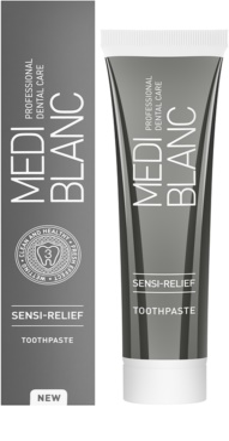 MEDIBLANC Sensi-Relief zubní pasta pro citlivé zuby 1