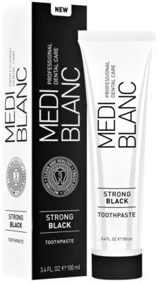 MEDIBLANC Strong Black dentrífico para proteção total dos dentes com efeito branqueador 2