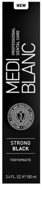 MEDIBLANC Strong Black dentrífico para proteção total dos dentes com efeito branqueador 4