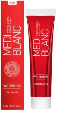 MEDIBLANC Whitening zubná pasta s bieliacim účinkom 1