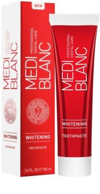 MEDIBLANC Whitening zubná pasta s bieliacim účinkom 2
