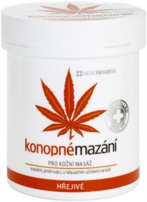 MEDICPROGRESS Cannabis Care unguent din canepa