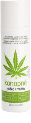 MEDICPROGRESS Cannabis Care lapte de canepa pentru corp