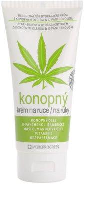 MEDICPROGRESS Cannabis Care crema de maini cu ulei de canepa