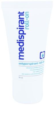 Medispirant Antiperspirant roll-on ce reduce transpiratia pe termen lung  fara parfum
