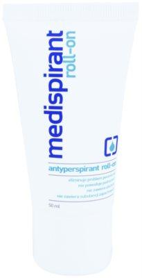 Medispirant Antiperspirant roll-on para uma redução longa de transpiração sem perfume
