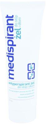 Medispirant Antiperspirant gel para manos y pies para reducir la transpiración