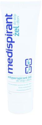 Medispirant Antiperspirant gel para mãos e pés contra a transpiração excessiva