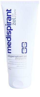 Medispirant Antiperspirant Duschgel gegen übermäßiges Schwitzen