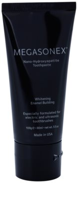 Megasonex Nano-Hydroxyapatite pasta de dentes branqueadora para a escova de dentes elétrica e ultra-sónica