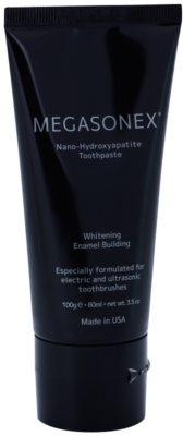 Megasonex Nano-Hydroxyapatite pasta de dinti pentru albirea dintilor pentru periute electrice si cu ultrasunete