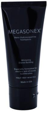 Megasonex Nano-Hydroxyapatite відбілююча зубна паста для відбілювання електричною та ультразвуковою зубними щітками