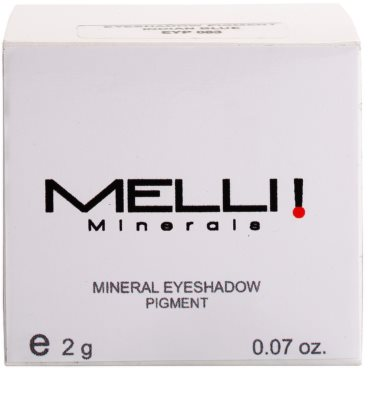 Melli Minerals Natural & Mineral Lidschatten mit Mineralien 2