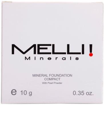 Melli Minerals Natural & Mineral ásványi kompakt alapozó 2