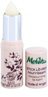 Melvita Argan Oil balsam do ust odżywienie i nawilżenie 2