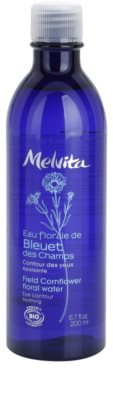 Melvita Eaux Florales Bleut des Champs água de limpeza calmante para o contorno dos olhos