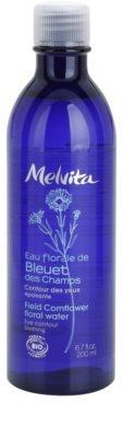 Melvita Eaux Florales Bleut des Champs beruhigendes Reinigungswasser für die Augenpartien