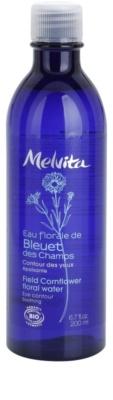 Melvita Eaux Florales Bleut des Champs заспокоююча очищуюча вода для шкріри навколо очей