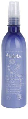 Melvita Bouquet Floral leite de limpeza suave