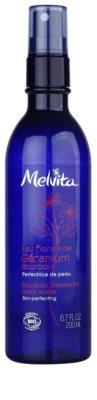 Melvita Eaux Florales Géranium Bourbon loción facial en spray para una piel perfecta