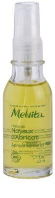 Melvita Huiles de Beauté Noyaux d'Abricot роз'яснююча зміцнююча олійка для обличчя та тіла