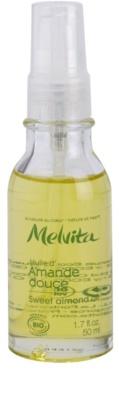 Melvita Huiles de Beauté Amande Douce óleo hidratante suave para rosto e corpo