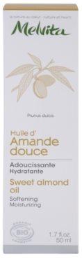 Melvita Huiles de Beauté Amande Douce mehčalno vlažilno olje za obraz in telo 3