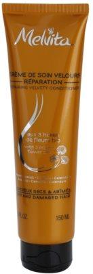 Melvita Hair acondicionador regenerador para cabello seco y dañado