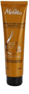 Melvita Hair balsam regenerator pentru par uscat si deteriorat