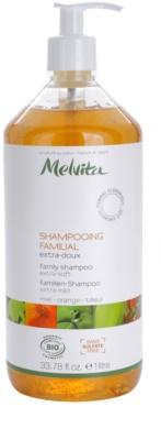 Melvita Hair champú de ducha extra suave para toda la familia