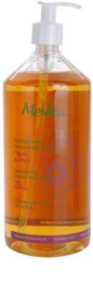 Melvita Hair делікатний шампунь для душу для волосся та тіла