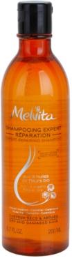 Melvita Hair champú regenerador para cabello seco y dañado