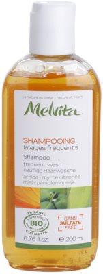 Melvita Hair шампоан  за често измиване на косата