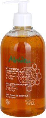 Melvita Hair champô para cabelo com óleos essenciais