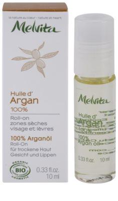 Melvita Huiles de Beauté Argan ulei de argan 100% pentru zonele uscate de pe fata si buze 2