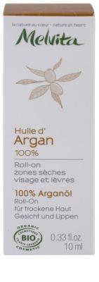 Melvita Huiles de Beauté Argan ulei de argan 100% pentru zonele uscate de pe fata si buze 3