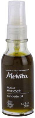 Melvita Huiles de Beauté Avocat olejek wygładzający do okolic oczu i twarzy