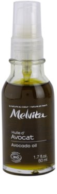 Melvita Huiles de Beauté Avocat изглаждащо олио за лице и околоочния контур
