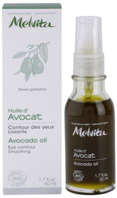 Melvita Huiles de Beauté Avocat olejek wygładzający do okolic oczu i twarzy 2