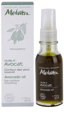 Melvita Huiles de Beauté Avocat розгладжуюча олійка для шкіри навколо очей 2
