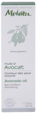 Melvita Huiles de Beauté Avocat розгладжуюча олійка для шкіри навколо очей 3