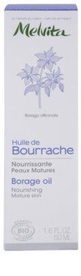 Melvita Huiles de Beauté Bourrache nährendes Öl für reife Haut 3