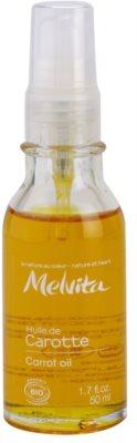 Melvita Huiles de Beauté Carotte finomító olaj a természetes barnulásért arcra és testre