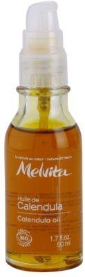 Melvita Huiles de Beauté Calendula nyugtató védő olaj arcra és testre 1