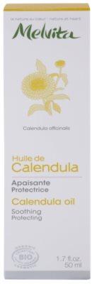 Melvita Huiles de Beauté Calendula nyugtató védő olaj arcra és testre 3