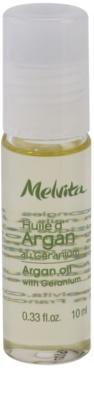 Melvita Huiles de Beauté Géranium aceite de argán para manos, uñas y cutículas