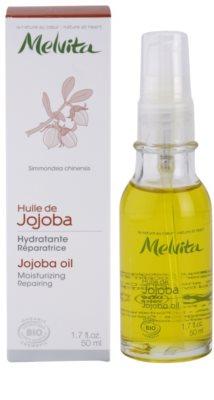Melvita Huiles de Beauté Jojoba aceite regenerador hidratante para rostro y cuerpo 2