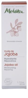 Melvita Huiles de Beauté Jojoba aceite regenerador hidratante para rostro y cuerpo 3
