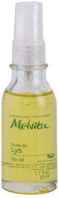 Melvita Huiles de Beauté Lys aceite protector con efecto iluminador para rostro y manos